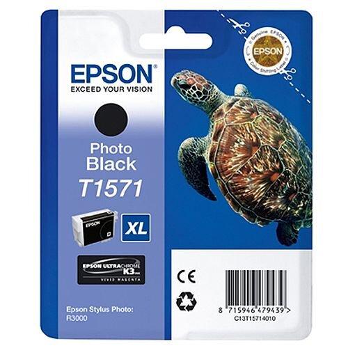 Epson Stylus Photo R3000 T1571 Inkjet Cartridge Photo Black C13T15714010
