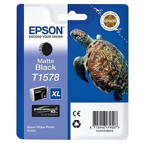 Epson Stylus Photo R3000 T1578 Inkjet Cartridge Matte Black C13T15784010