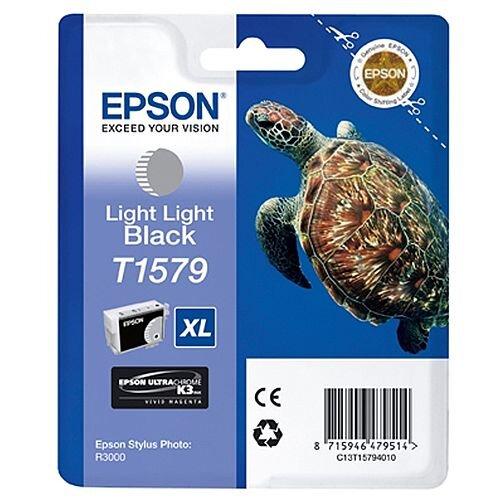 Epson Stylus Photo R3000 T1579 Inkjet Cartridge Light Light Black C13T15794010