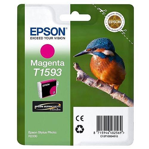 Epson Inkjet Cartridge Magenta Kingfisher T1593 Volume: 17ml C13T15934010