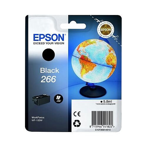 Epson 266 Globe Ink Black C13T26614010