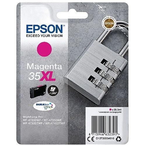 Epson Singlepack Magenta 35XL DURABrite Ultra Ink