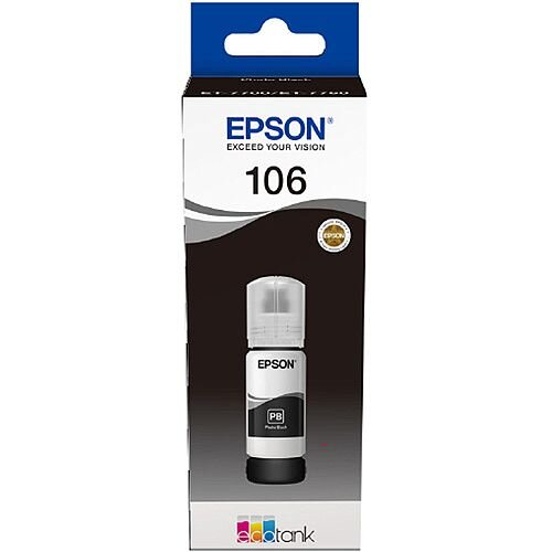 Epson 106 EcoTank Photo Black Ink Bottle C13T00R140