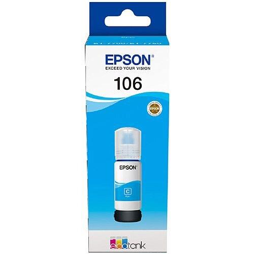 Epson 106 EcoTank Cyan Ink Bottle C13T00R240