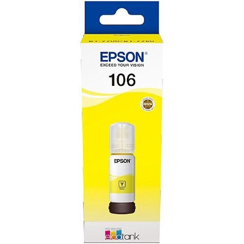 Epson 106 EcoTank Yellow Ink Bottle C13T00R440
