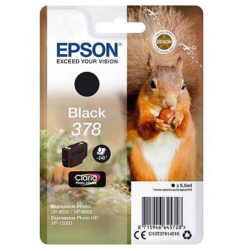Epson 378 Photo HD Inkjet Cartridge C13T37814010