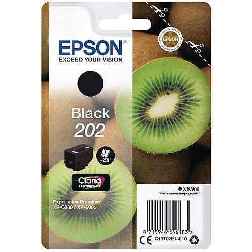 Epson 202 Black Claria Premium Ink C13T02E14010