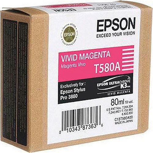 Epson T580A Magenta Inkjet Cartridge C13T580A00 / T580A00