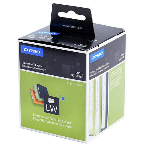 Dymo 99019 LabelWriter Labels Lever Arch File Large Pack 110