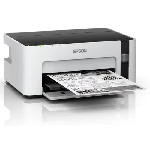 Epson EcoTank ET-M1120 - Mono Inkjet Printer - Wi-Fi and Mobile Printing - 150-Sheet Front Tray - Print up to 5,000 Pages