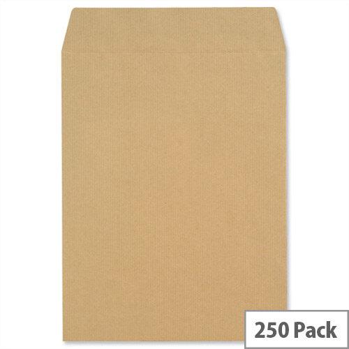 New Guardian Pocket Envelopes 270x216mm 130gsm Self Seal Pack of 250