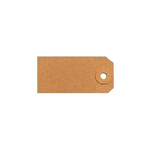 Tags Unstrung 120x60mm Buff Single Pack 1000