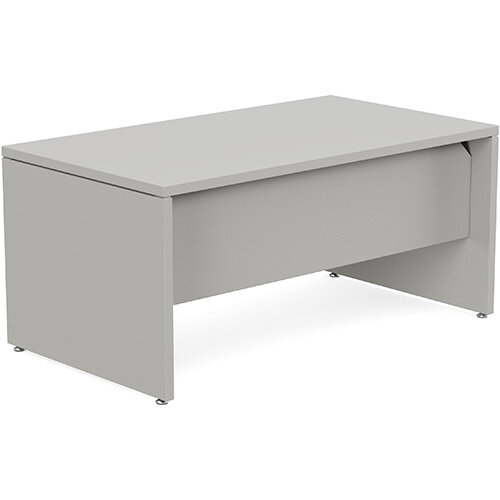 Fermo Executive Office Desk W1600mm Grey