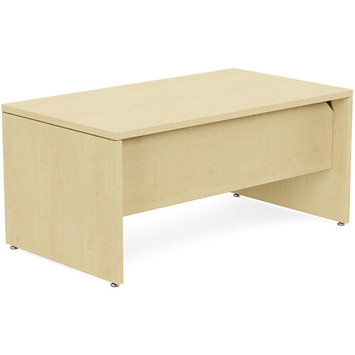 Fermo Executive Office Desk W1600mm Maple