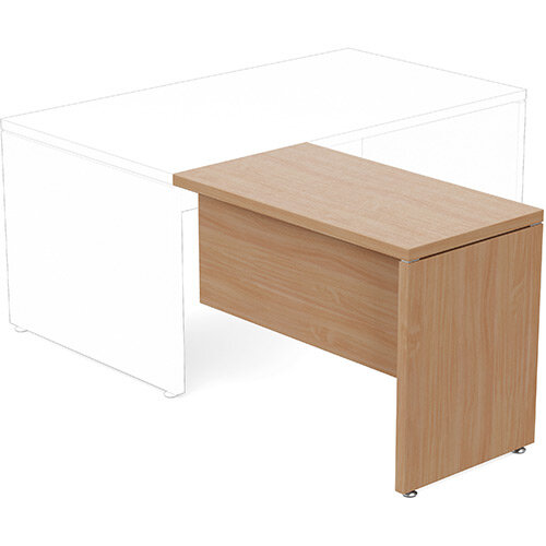 Fermo Executive Return Desk Add-On Unit Beech