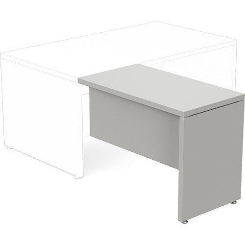 Fermo Executive Return Desk Add-On Unit Grey