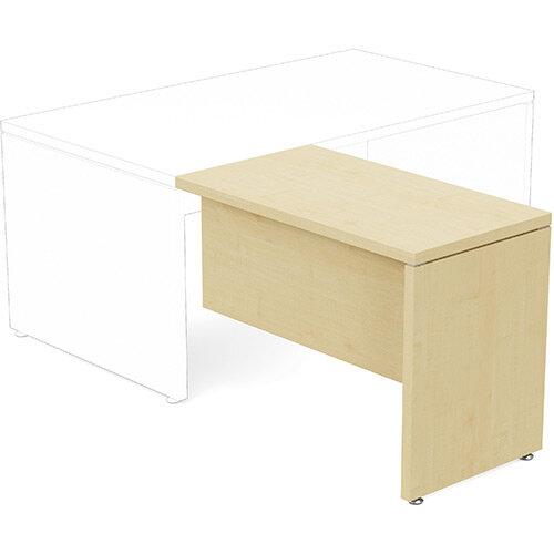 Fermo Executive Return Desk Add-On Unit Maple