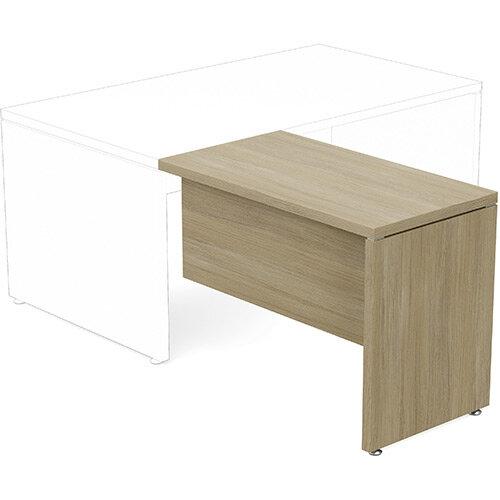 Fermo Executive Return Desk Add-On Unit Urban Oak