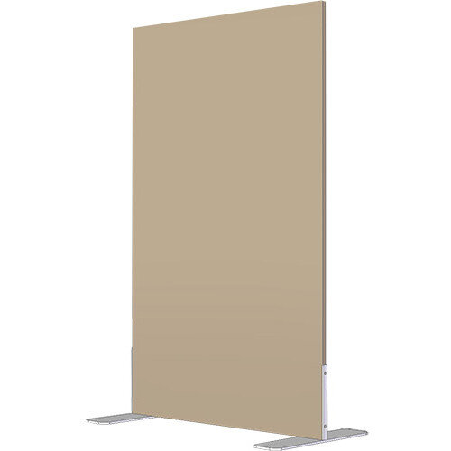 Free Standing Screen Melamine 18mm panel h1200mmx1000mm Fixed Foot Beech
