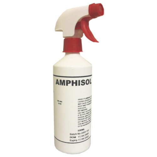 Amphisol-70 Non Sterile Isopropyl Alcohol 70% Disinfectant 500ml Spray