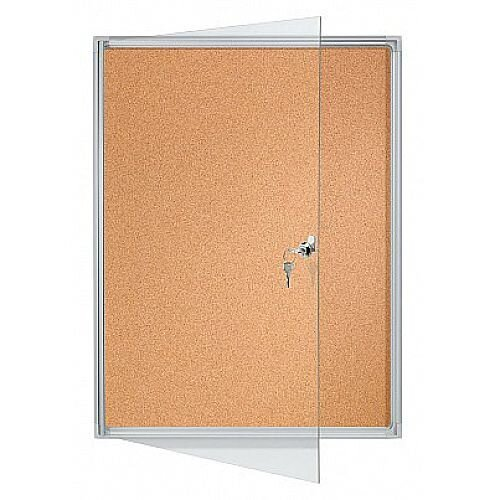 Franken Flat Board Display Cases ValueLine Cork 9 x A4 FSKA9