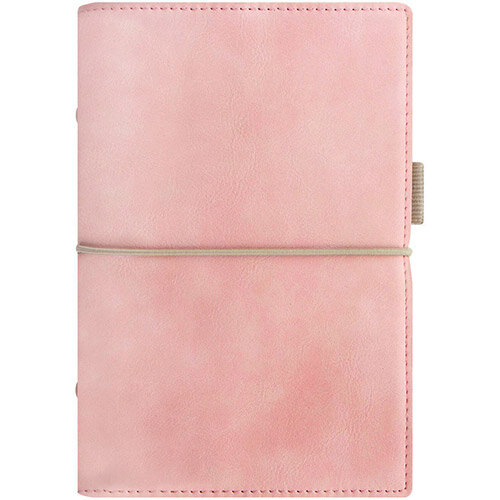 Filofax Domino Soft Personal Organiser Diary Pale Pink 22577