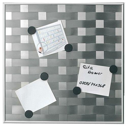Franken Memo Board Matrix 475mm x 475mm Silver