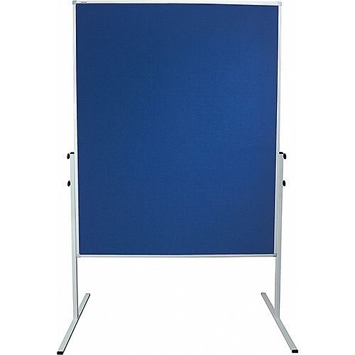 Franken ValueLine Training Board Standard 1200x1500mm Felt Blue CC-UMTF 03