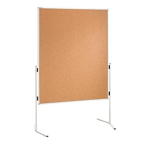 Franken ECO Training Board Cork Aluminium Legs 1200x1500mm ECO-UMTKT