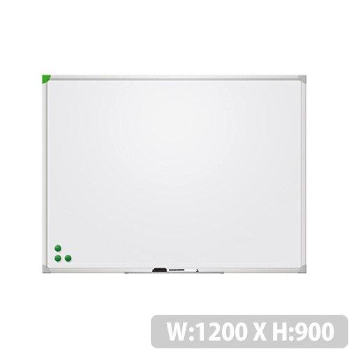 Franken Magnetic Whiteboard U-Act!Line 1200x900mm Enameled White SC929012