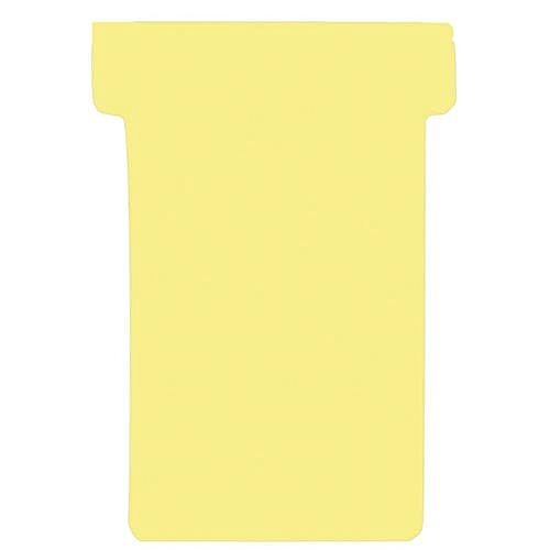 Franken T-Card Size 3 Yellow Pack of 100 TK304
