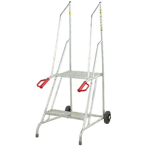 Fort Dock Access Steps 2 Galvanised Treads Height 1.21m Capacity 150kg GSD702G