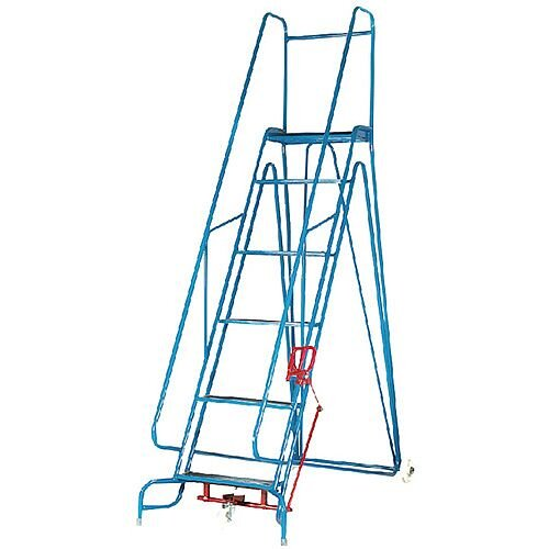 en 131 gs fort arrow 6 tread blue steps height 2 2m capacity 150kg