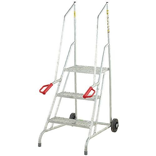 Fort Dock Access Steps 3 Galvanised Treads Height 1.46m Capacity 150kg GSD703G