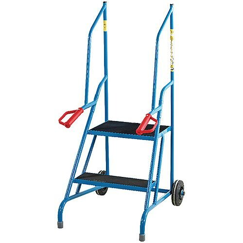 Fort Dock Access Steps 2 Phenolic Treads Height 1.21m Capacity 150kg GSD702R