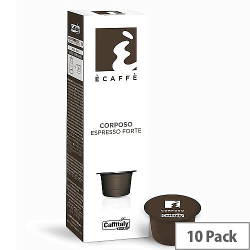 Corposo Ecaffe Caffitaly Coffee Pods Sleeve of 10 Capsules