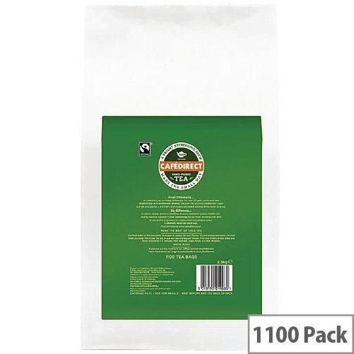 Cafe Direct Tea Direct Polybag Tea Bag 2gm Pack of 1100 TW13204