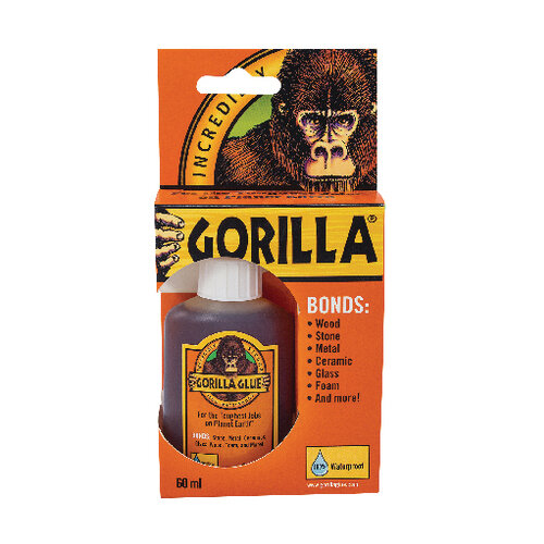 Gorilla 100% Waterproof Glue 60ml 1044202