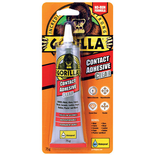 Gorilla Contact Adhesive Clear 75g 2144001