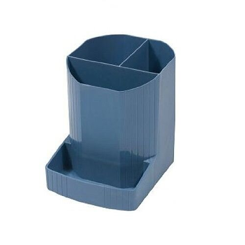 Pen Pot Holder Blue Exacompta Forever 675101D