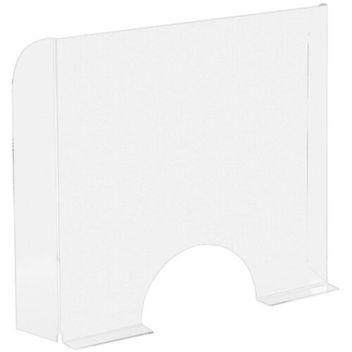 Exacompta Sneeze Guard Cashier Protection Stand 95x68cm 80058D