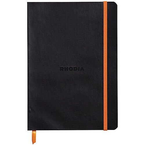 Rhodiarama Soft Notebook A5 Black 117402C