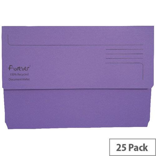Guildhall Bright Foolscap Manilla Wallet Purple 211/5005
