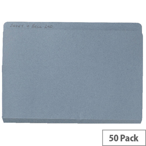Guildhall Open Top Wallet Blue Pack of 50 OTW-BLUZ