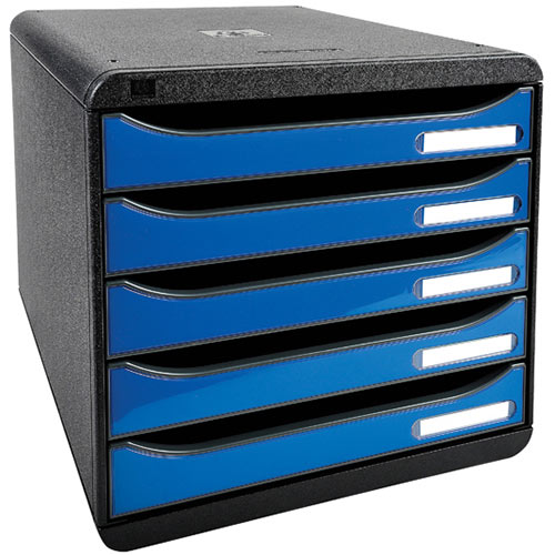 Iderama Big Box Plus 5 Drawer Set Blue 3097279D