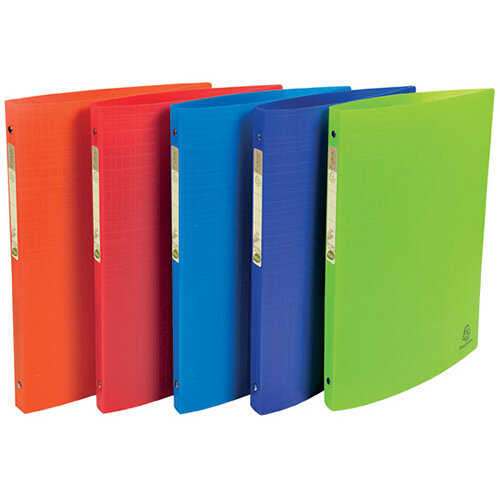 Forever Ring Binder Polpropylene A4 15mm Assorted Pack of 20 541570E