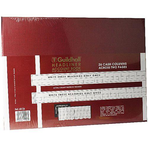 Guildhall Headliner Book 298x405 68/26