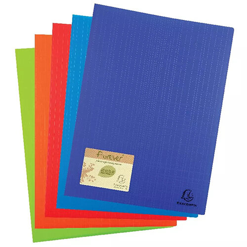 Forever Display Book 50 Pocket Assorted Pack of 8 885570E