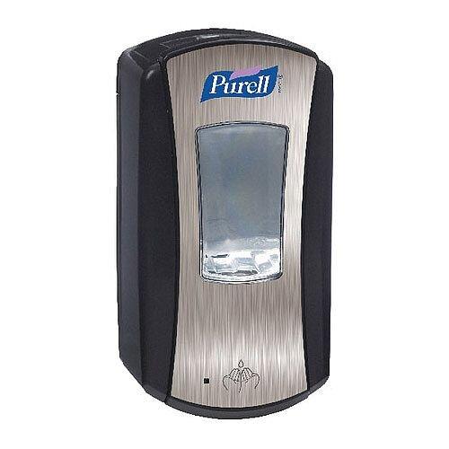 Purell LTX-12 Touch-free Dispensing System Hand Sanitizer Dispenser 1200ml Chrome/Black 1928-04