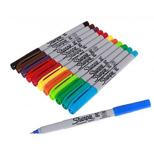 Sharpie Ultra Fine Assorted Pack of 12 S0941891